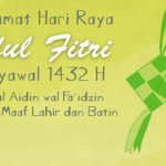 Selamat Hari Raya Idul Fitri 1432 H, Mohon Maaf Lahir dan Batin…!!!