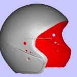 Scanner 3D, Hasil scan helm….Yuk kita lihat…