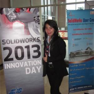 PT. Arisma Data Setia (ADS) telah resmi meluncurkan product baru SolidWorks 2013 pada SolidWorks Innovation Day 2012 di Indonesia… !!!!