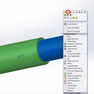 "Arisma Data Solidworks Tips/Trick Indonesia : ""Trim Bodies pada Window Assembly Solidworks"""