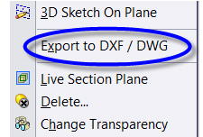solidworks tutorial – Save as data ke DXF