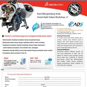 One Day Training Software SolidWorks Gratis – Juli 2013