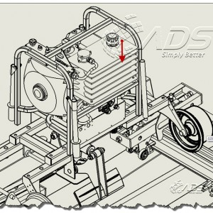 Component Line Font Pada SolidWorks