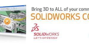 3D untuk semua komunikasi dengan SolidWorks Composer