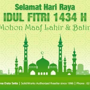 Pemberitahuan Libur Idul Fitri 1434 H – SolidWorks at ADS