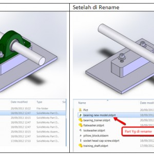 Rename File SolidWorks – Tutorial