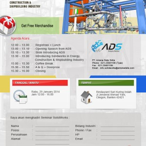 SolidWorks Seminars – Introducing Solidworks in Energy,  Construction &  Shipbuilding Industry