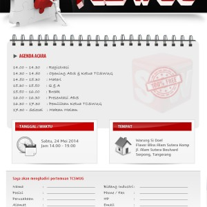 TANGERANG CITY SOLIDWORKS USER GROUP – TCSWUG