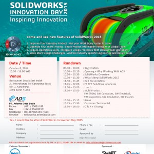 SolidWorks Innovation Day 2015