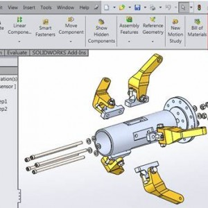 SolidWorks Explode View