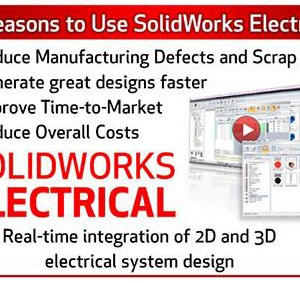 SolidWorks Electrical – Merubah tebal garis Cable pada Schematic
