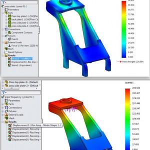SolidWorks Simulation – Mencari material yang paling optimal secara otomatis