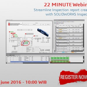 FREE WEBINAR : SOLIDWORKS Inspection