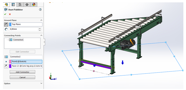 magnetic mates solidworks5