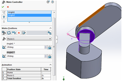 mate controler solidworks 5
