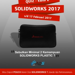 Kuis SOLIDWORKS Plastic – edisi 2 – 2017