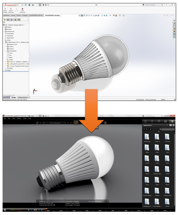 solidworks visualize 2