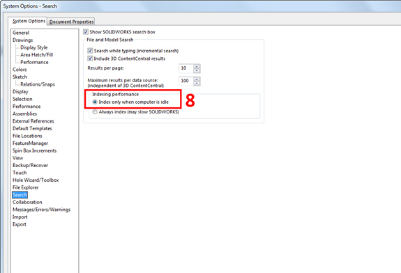 solidworks requirements 10