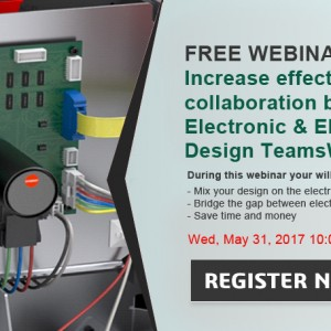 WEBINAR Gratis – Collaboration between SOLIDWORKS Electrical & PCB