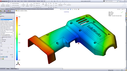 solidworks injection plastic 3