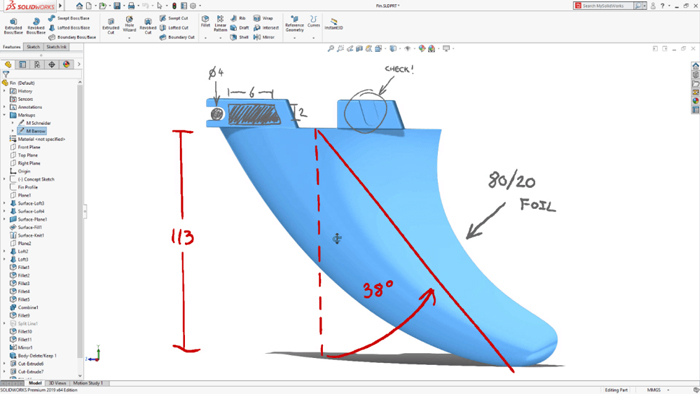 solidworks 2019 - On the Surface 2