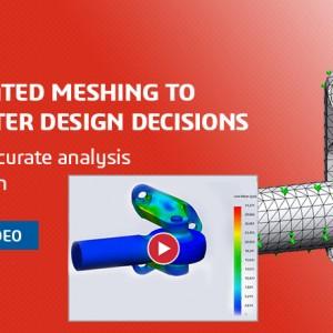 Meshing Automatis untuk Membuat Keputusan Desain yang Lebih Cerdas