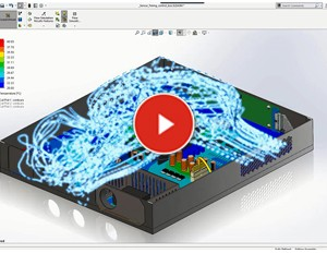 SOLIDWORKS FLow Simulation – Overheating