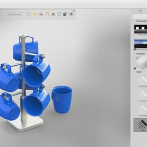 Area Light fitur terbaru di SolidWorks Visualize 2018