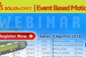 Webinar SOLIDWORKS – Event Based Motion