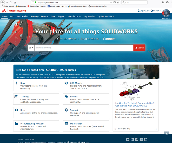 my solidworks