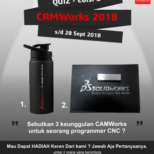 Kuis CAMWorks 2018 – Edisi 2