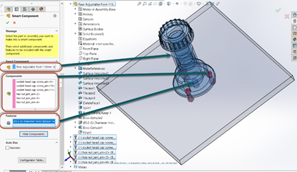 smart compobnent solidworks 3