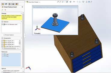 smart compobnent solidworks 6