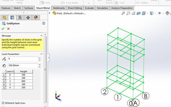 grid system solidworks 3