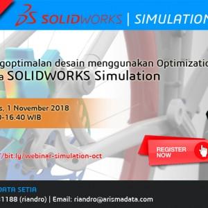 Mengoptimalkan desain menggunakan Optimization Study di SolidWorks