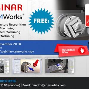 Webinar CAMWorks 2018 – November