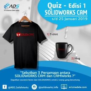 Kuis SOLIDWORKS CAM 2019 – edisi 1