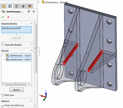 interface detection solidworks 3