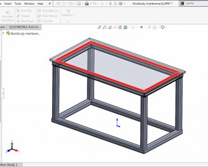 Fitur Interference Detection pada SOLIDWORKS 2019