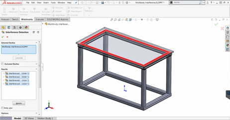 solidworks interface