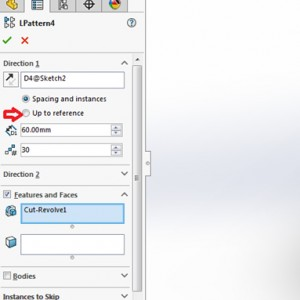SOLIDWORKS Up to Reference Patterns