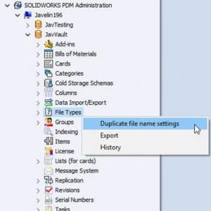 Menangani duplikasi file di SOLIDWORKS PDM