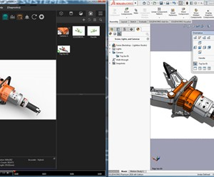 SOLIDWORKS Visualize – Import SOLIDWORKS Views, Cameras, dan lights