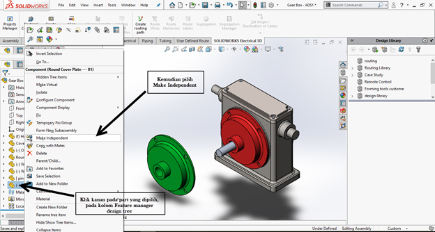 SOLIDWORKS Assembly 3