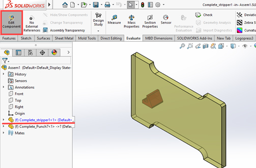 cavity solidworks 2