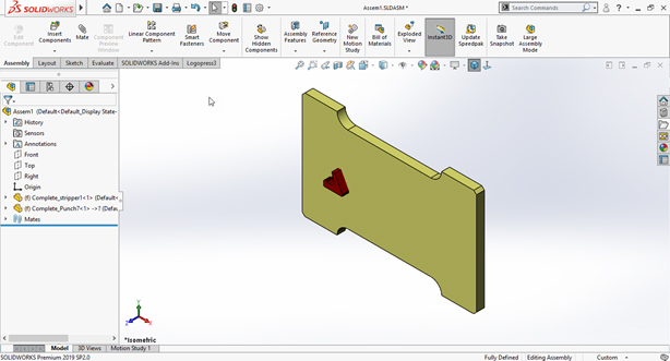 cavity solidworks