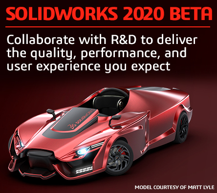 solidworks 2020 beta version