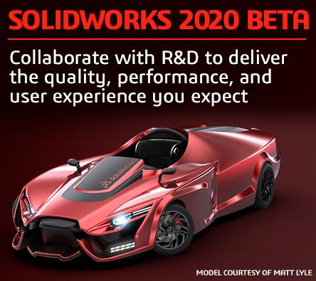 solidworks 2020 beta version