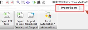 Import File DWG pada SOLIDWORKS Elctrical